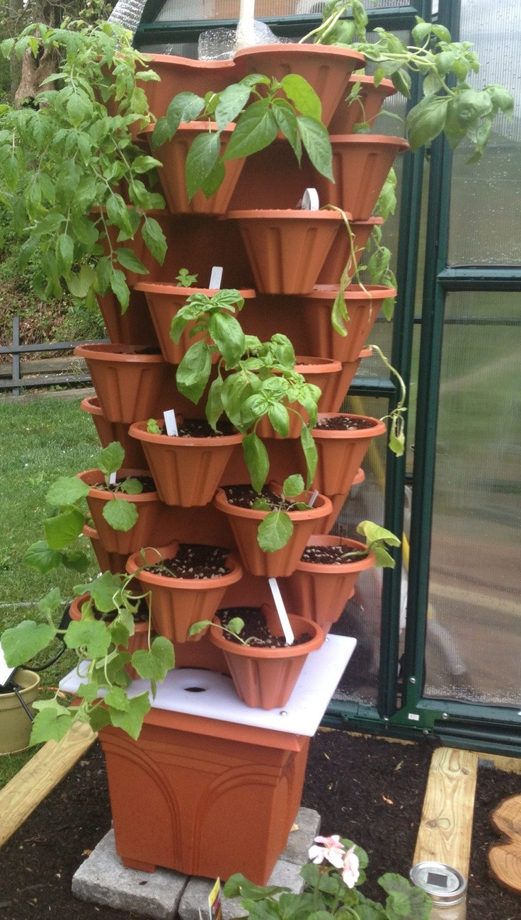 Best ideas about Hydroponic Tower Garden DIY . Save or Pin September 2016 Aquaponics at Home Now.