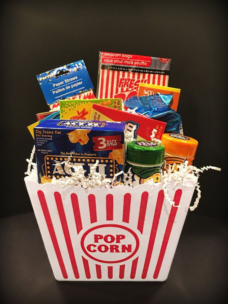 Best ideas about Ideas For A Movie Theater Gift Basket . Save or Pin 17 Best ideas about Raffle Prizes on Pinterest Now.