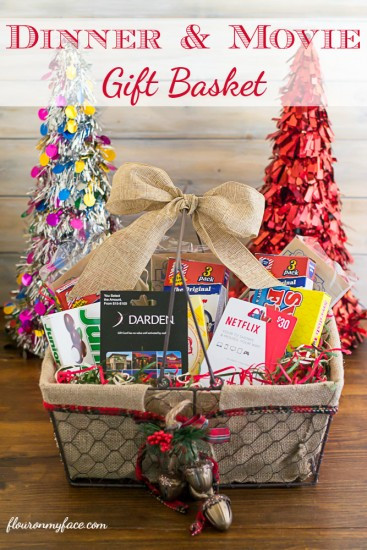 Best ideas about Ideas For A Movie Theater Gift Basket . Save or Pin Christmas Gift Basket Ideas Now.