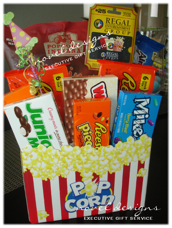 Best ideas about Ideas For A Movie Theater Gift Basket . Save or Pin Custom Gift Baskets Las Vegas Gift Basket Delivery Now.