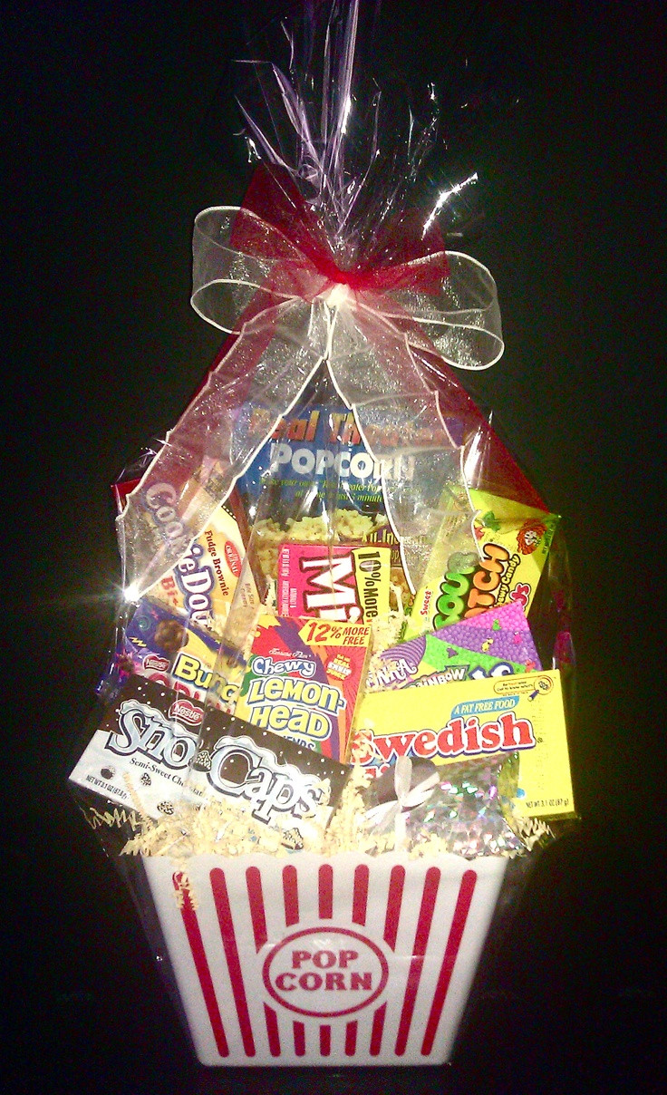 Best ideas about Ideas For A Movie Theater Gift Basket . Save or Pin Pin by Cindy Parker Sturgill on t ideas Now.