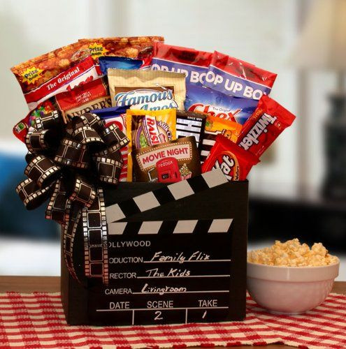 Best ideas about Ideas For A Movie Theater Gift Basket . Save or Pin 1000 ideas about Movie Night Basket on Pinterest Now.