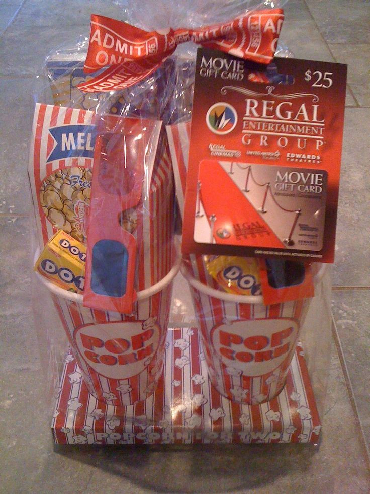 Best ideas about Ideas For A Movie Theater Gift Basket . Save or Pin 344 best images about Auction Baskets and Other Great Now.