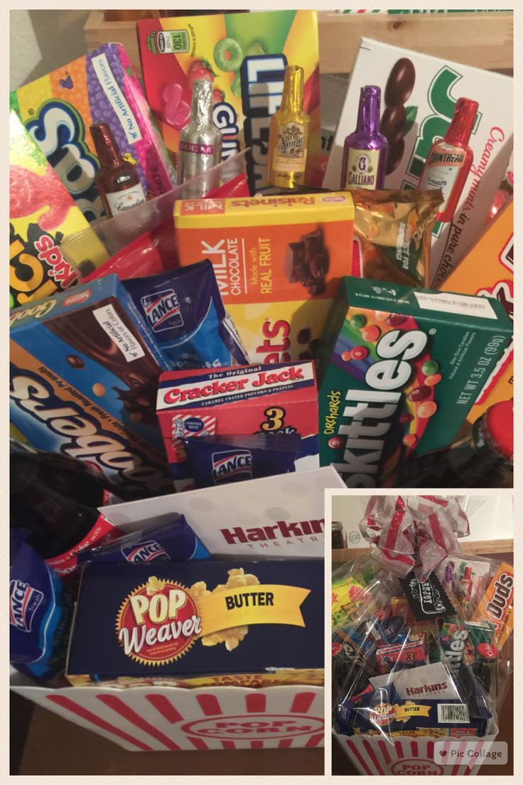 Best ideas about Ideas For A Movie Theater Gift Basket . Save or Pin 17 Best ideas about Movie Basket Gift on Pinterest Now.