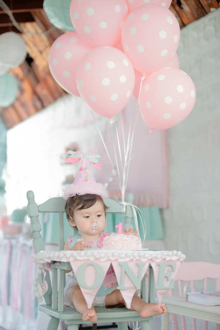Best ideas about Ideas For First Birthday . Save or Pin 10 1st Birthday Party Ideas for Girls Part 2 Tinyme Blog Now.