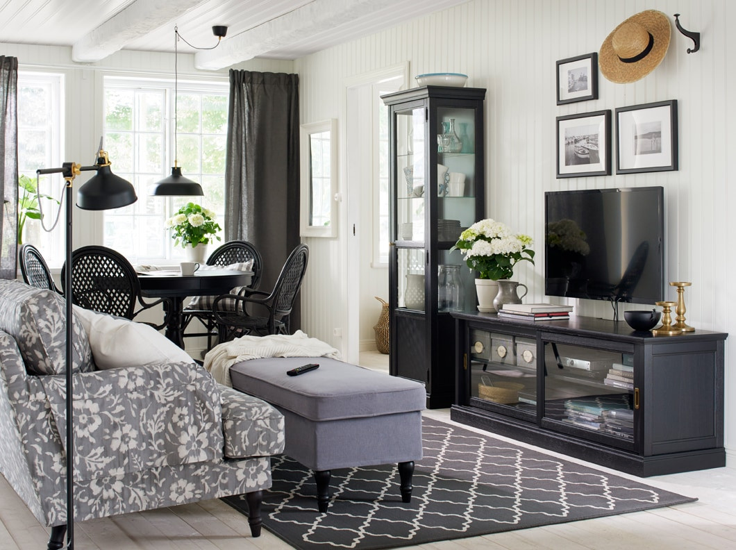 Best ideas about Ikea Living Room Chairs . Save or Pin Smart dust free storage under your TV IKEA Now.