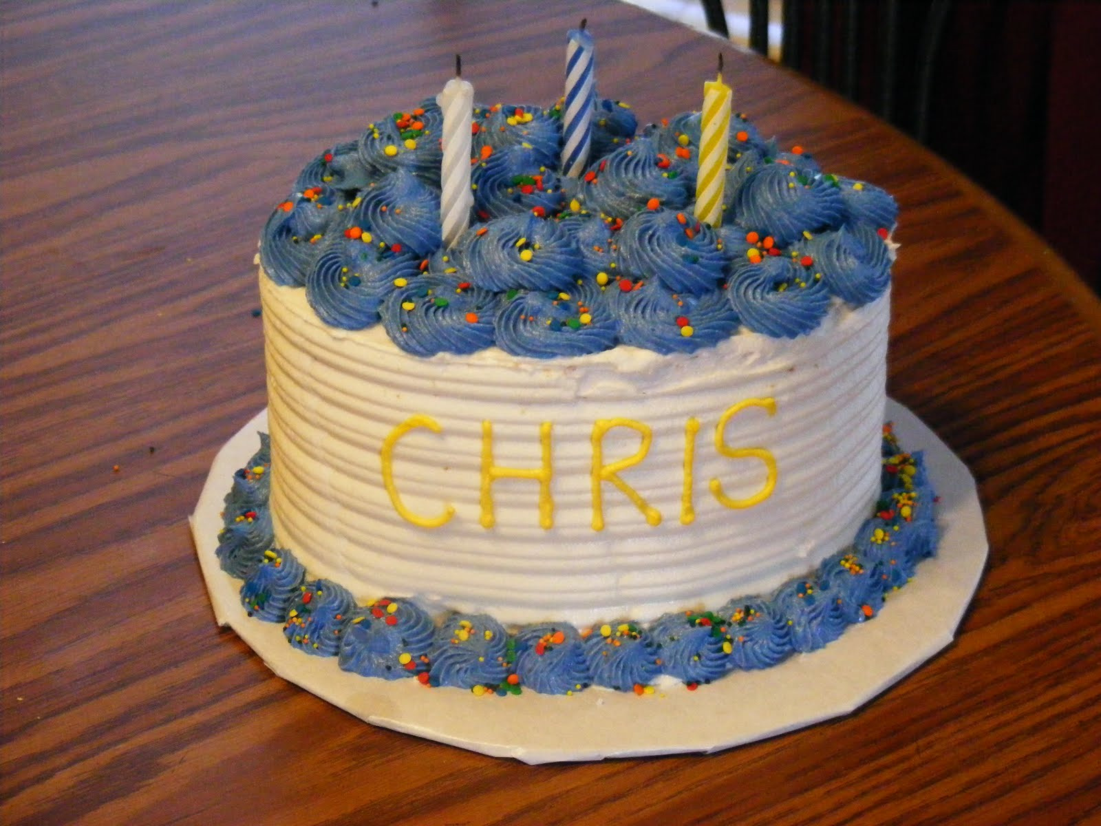 Best ideas about Image Birthday Cake . Save or Pin Chris Birthday Cakes Now.