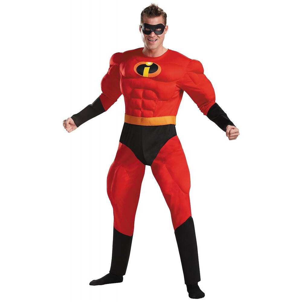 Best ideas about Incredibles DIY Costumes . Save or Pin Mr Incredible Costume Adult Superhero The Incredibles Now.