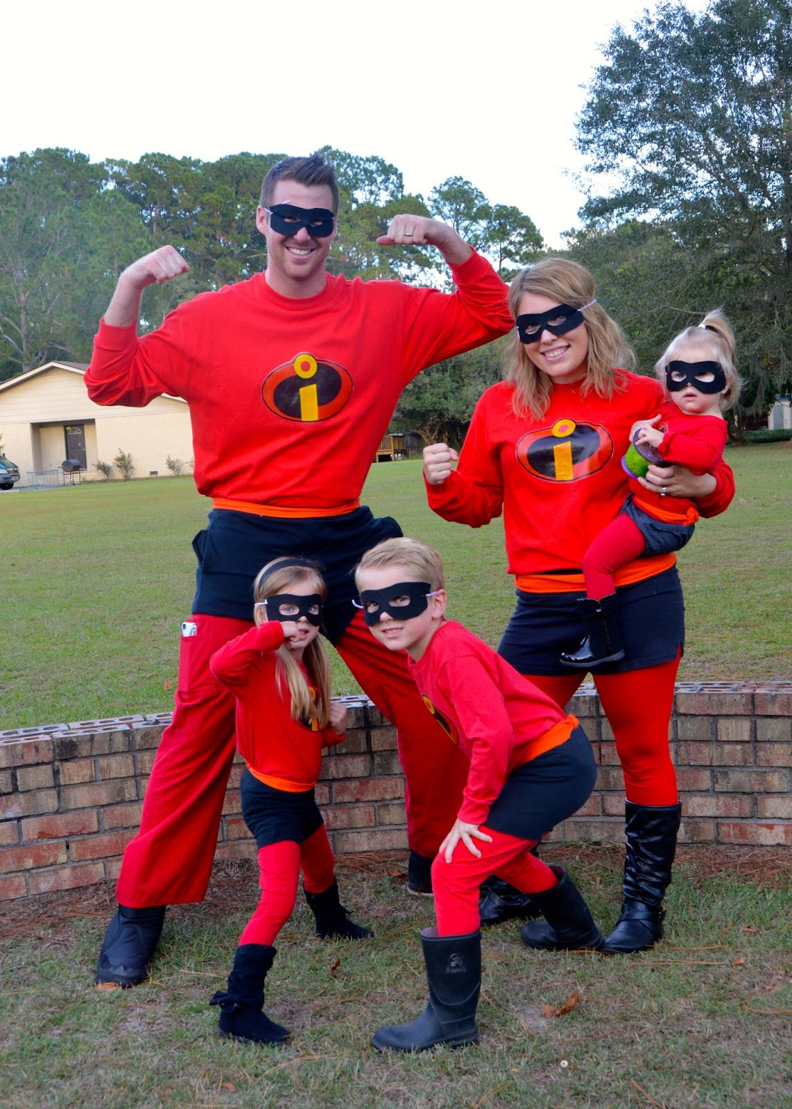 Best ideas about Incredibles DIY Costumes . Save or Pin The Journey of Parenthood Incredibles Halloween Now.