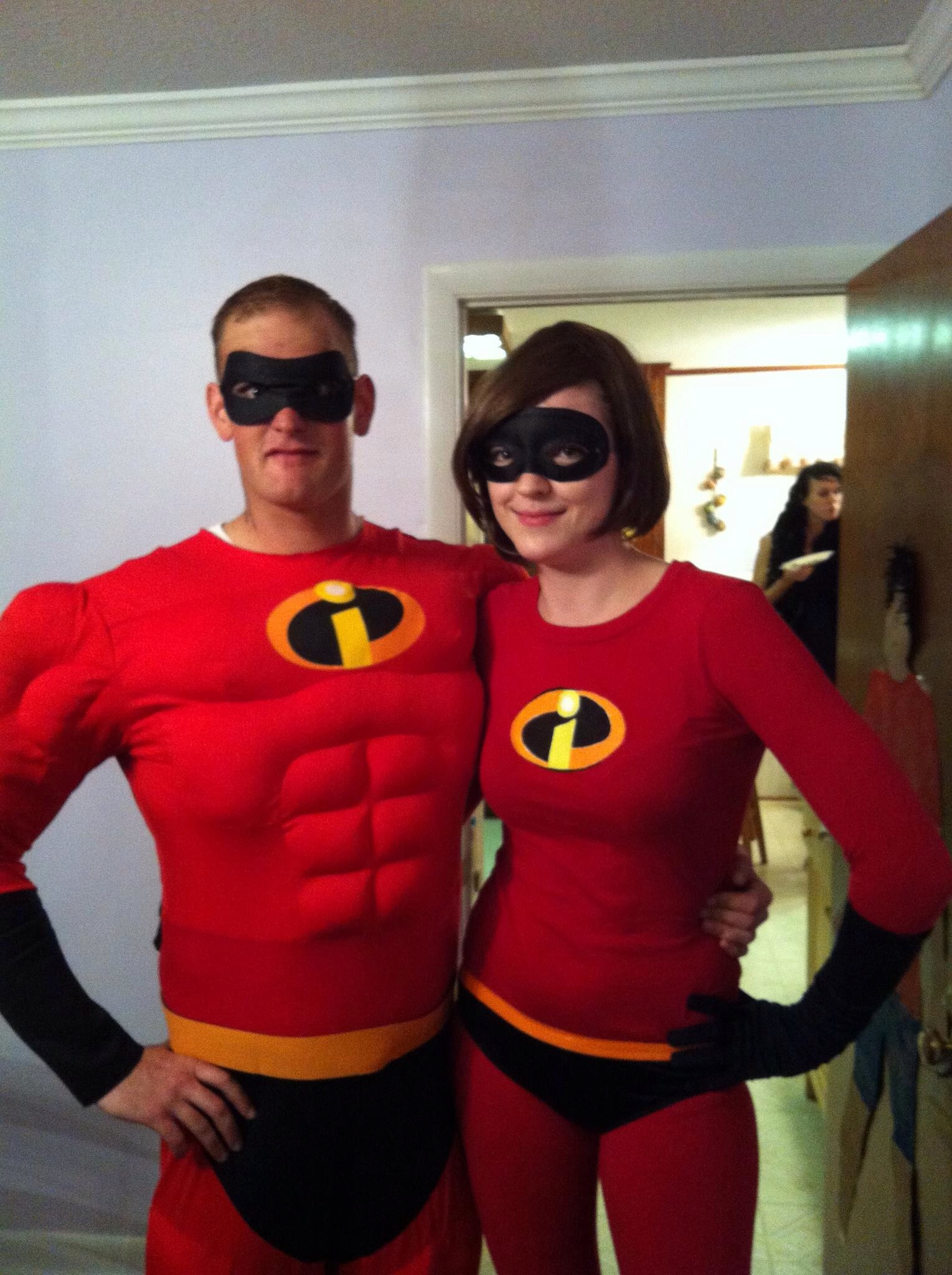 Best ideas about Incredibles DIY Costumes . Save or Pin DIY Incredibles Couple Costume – Noelle Lewis Art Now.
