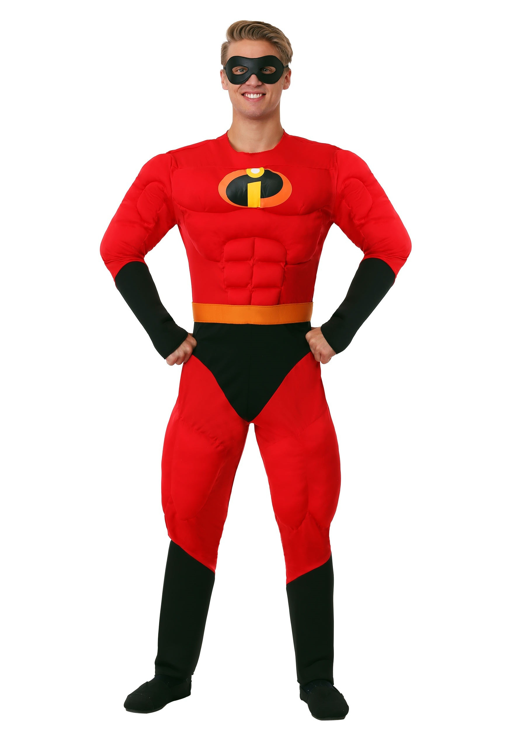 Best ideas about Incredibles DIY Costumes . Save or Pin Adult Mr Incredible Costume The Incredibles Movie Costumes Now.