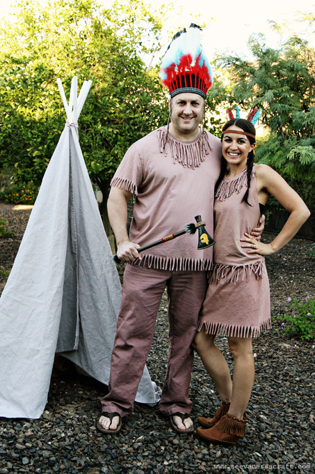 Best ideas about Indian Halloween Costumes DIY . Save or Pin 20 crafty days of halloween no sew indian costumes See Now.