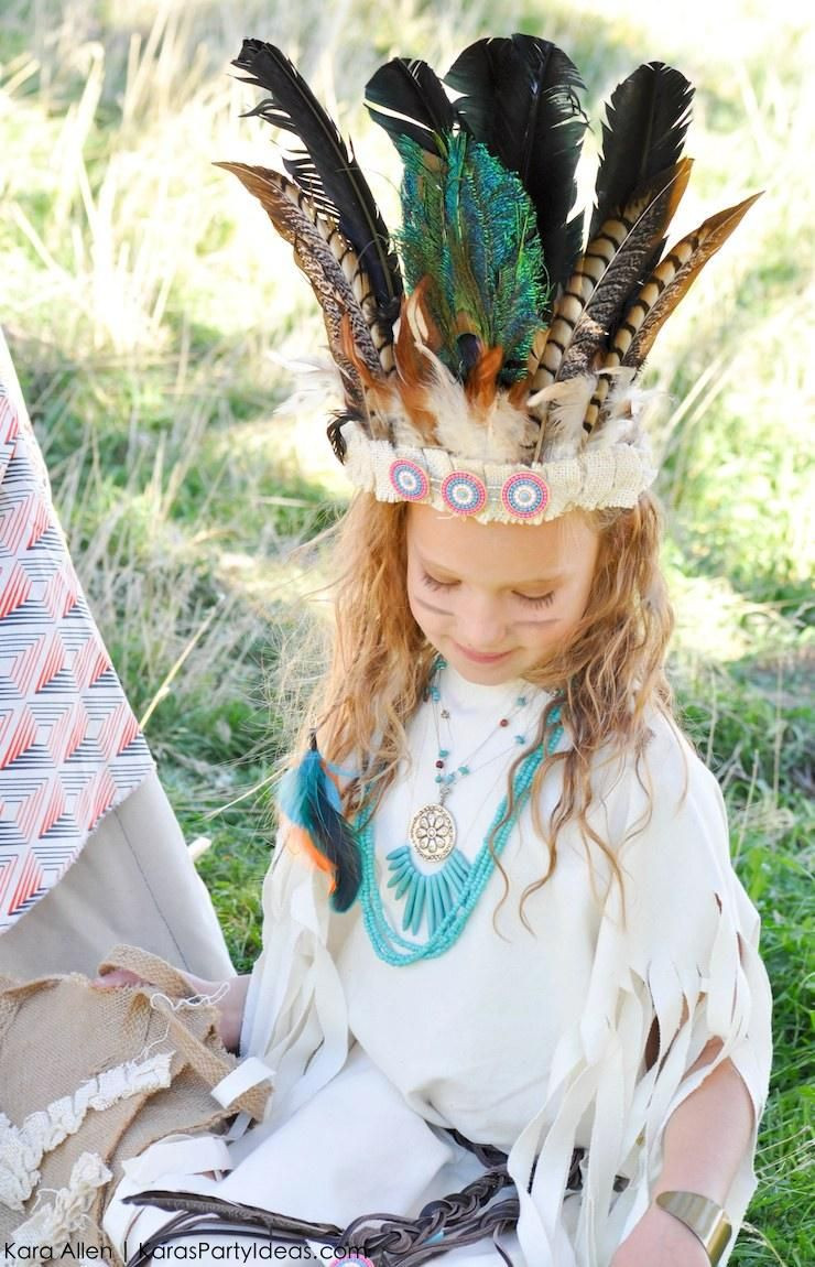 Best ideas about Indian Halloween Costumes DIY . Save or Pin No Sew DIY Sacagawea indian halloween costume by Kara Now.