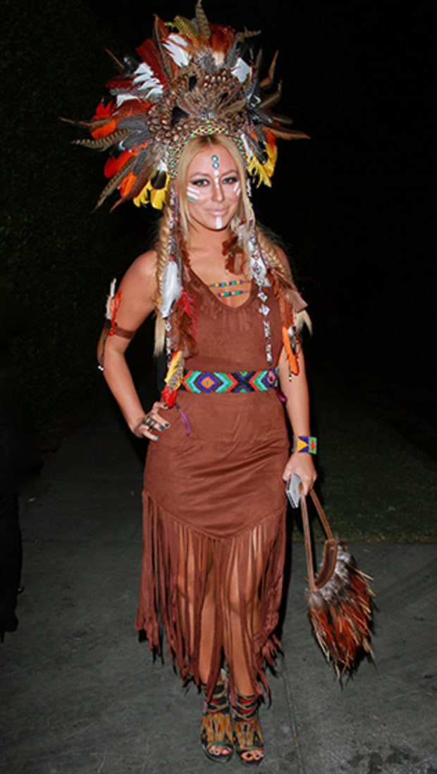 Best ideas about Indian Halloween Costumes DIY . Save or Pin Aubrey O Day Celebs 2012 Halloween Costumes Now.