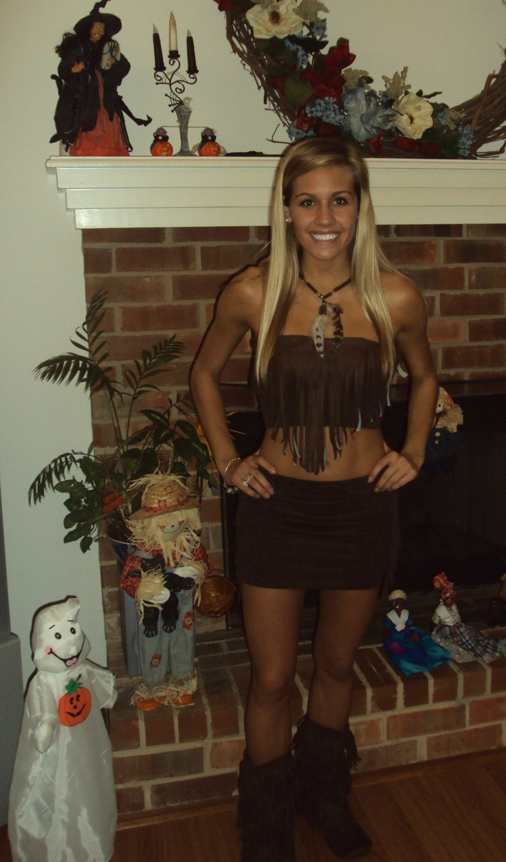 Best ideas about Indian Halloween Costumes DIY . Save or Pin DIY indian costume Halloween Pinterest Now.