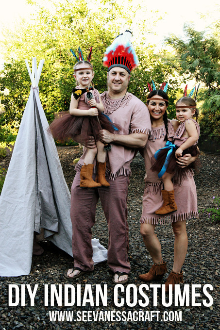 Best ideas about Indian Halloween Costumes DIY . Save or Pin 15 Fabulous Family Costume Ideas Design Dazzle Now.