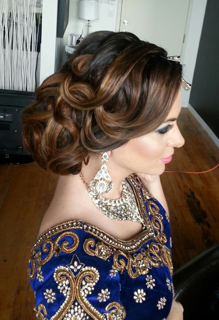 Best ideas about Indian Wedding Hairstyles . Save or Pin 16 Glamorous Indian Wedding Hairstyles Pretty Designs Now.