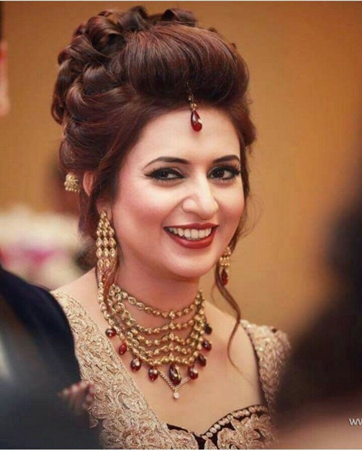 Best ideas about Indian Wedding Hairstyles . Save or Pin Indian wedding trend autiful bride Divyanka Tripathi Now.