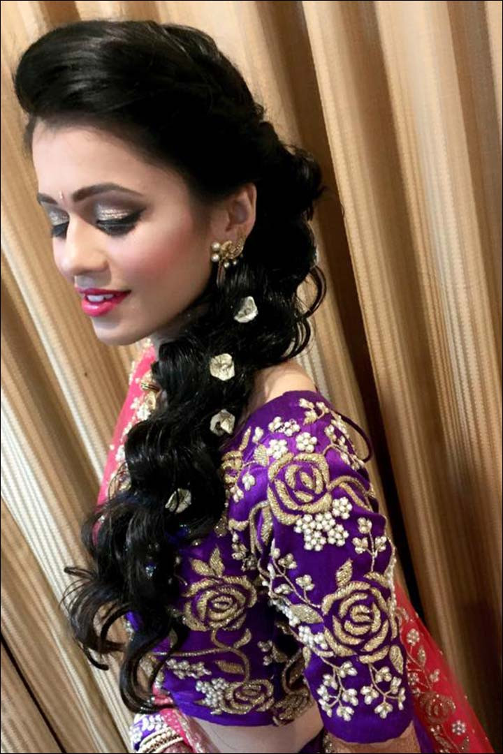 Best ideas about Indian Wedding Hairstyles . Save or Pin Perfect South Indian Bridal Hairstyles For Receptions Now.