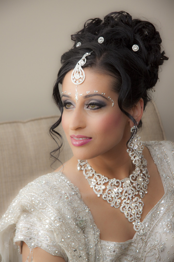 Best ideas about Indian Wedding Hairstyles . Save or Pin Bridal Hair Style Ideas Now.