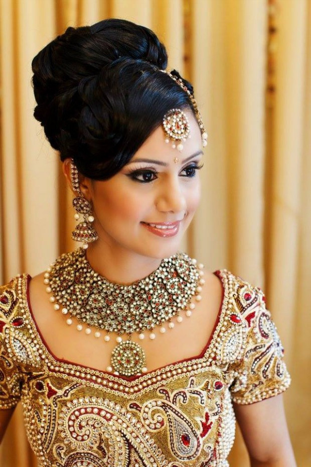 Best ideas about Indian Wedding Hairstyles . Save or Pin Fashion & Fok Latest Indian Wedding Bridal New Now.