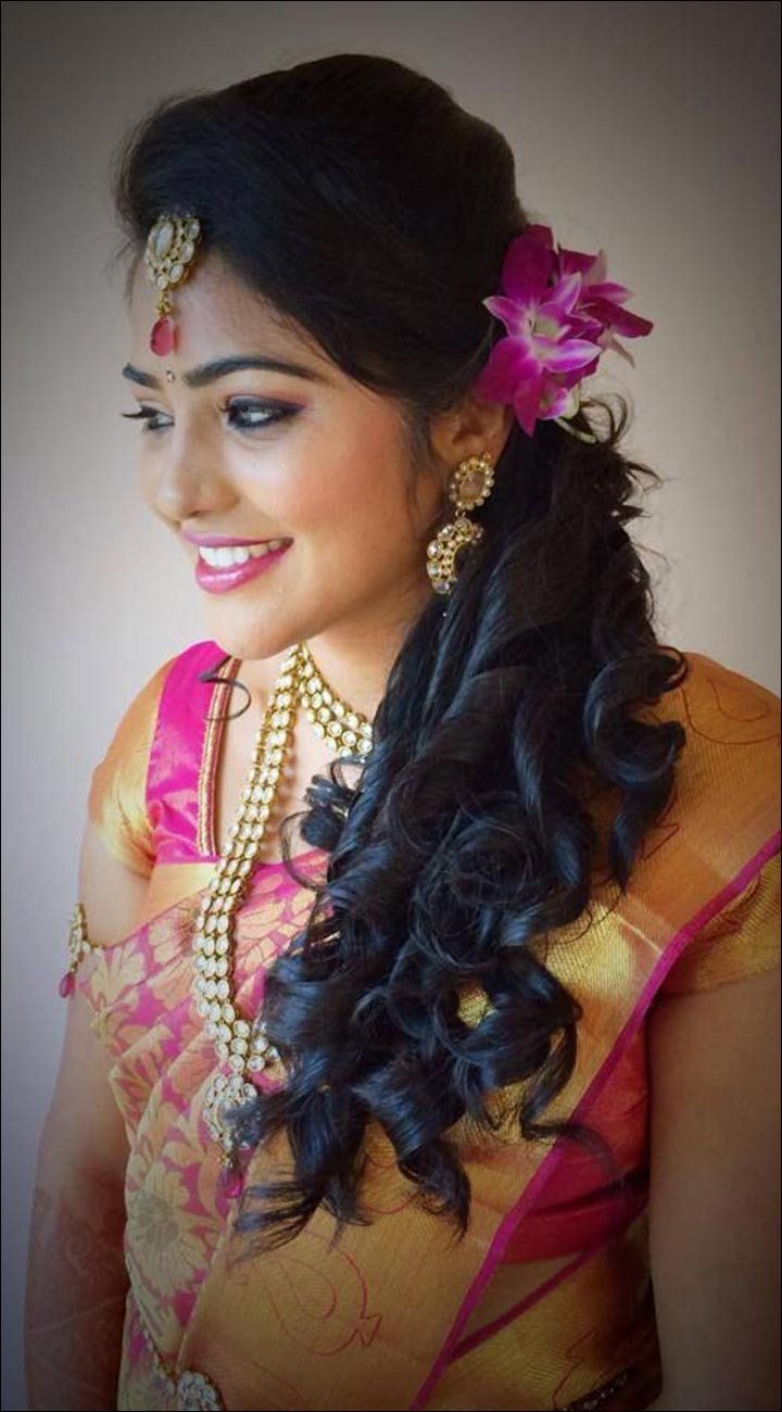 Best ideas about Indian Wedding Hairstyles . Save or Pin Hindu Bridal Hairstyles 14 Safe Hairdos For The Modern Now.