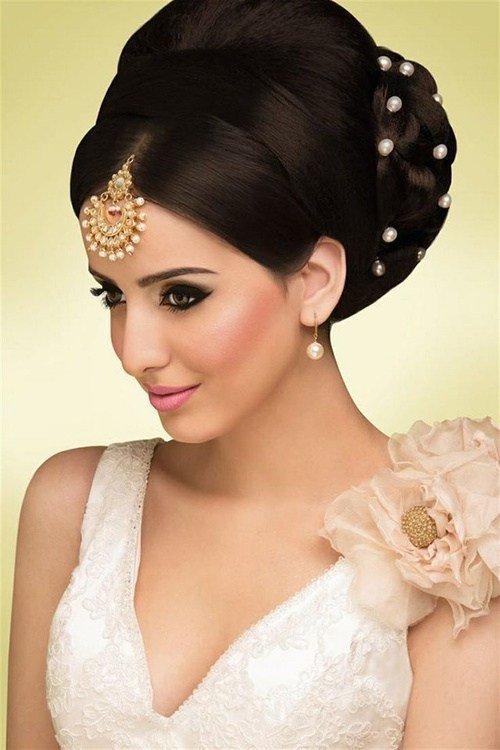 Best ideas about Indian Wedding Hairstyles . Save or Pin Hairstyles For Indian Wedding – 20 Showy Bridal Hairstyles Now.