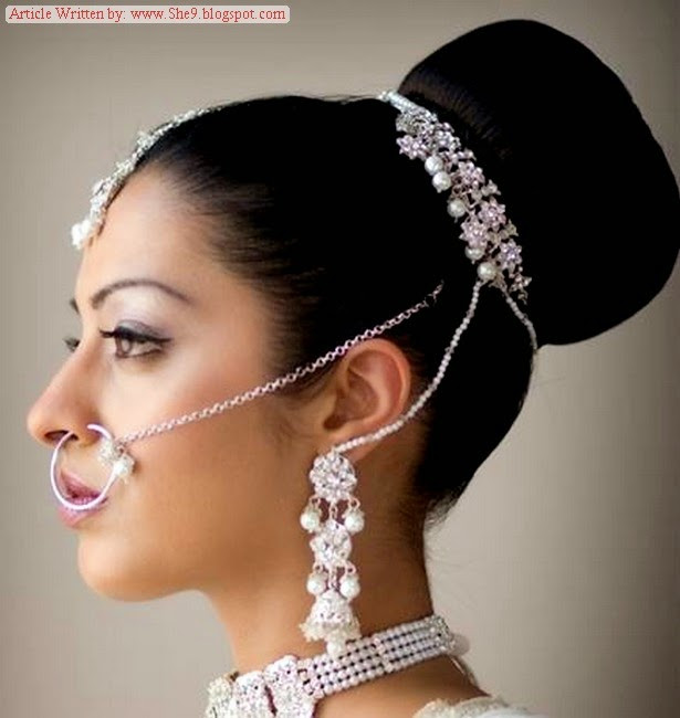 Best ideas about Indian Wedding Hairstyles . Save or Pin Pakistani Bridal Hairstyles 2014 2015 for Walima Party and Now.