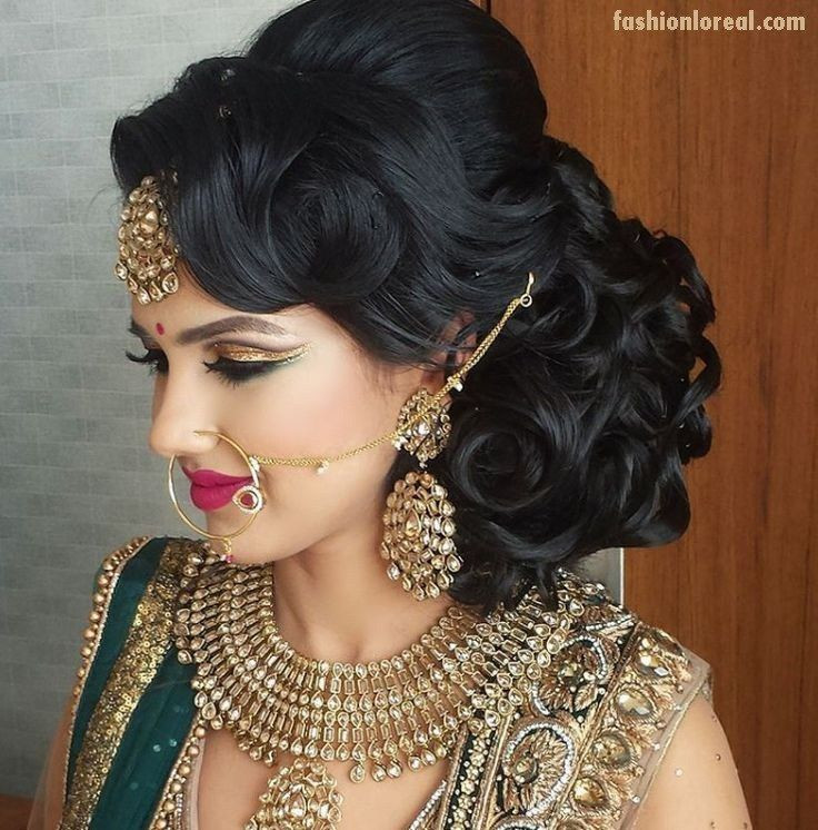 Best ideas about Indian Wedding Hairstyles . Save or Pin Best 25 Indian hairstyles ideas on Pinterest Now.