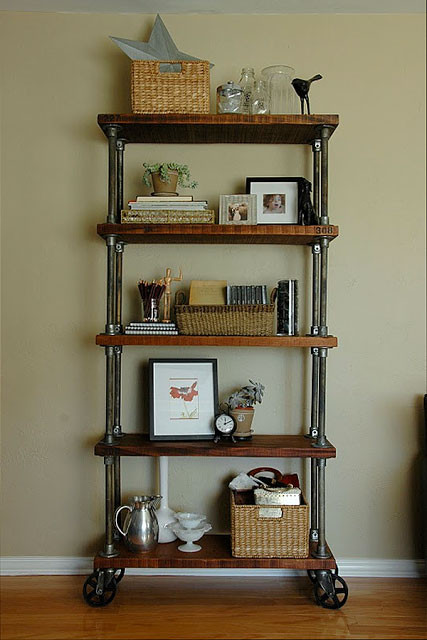 Best ideas about Industrial Pipe Shelving DIY . Save or Pin 59 DIY Shelf Ideas Built With Industrial Pipe Now.