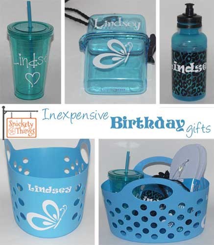 Best ideas about Inexpensive Birthday Gifts . Save or Pin Snickety Things Inexpensive birthday ts Now.
