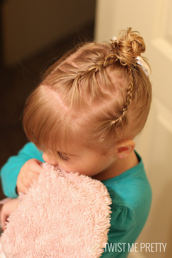Best ideas about Infant Girls Hairstyles . Save or Pin Styles for the wispy haired toddler Twist Me Pretty Now.