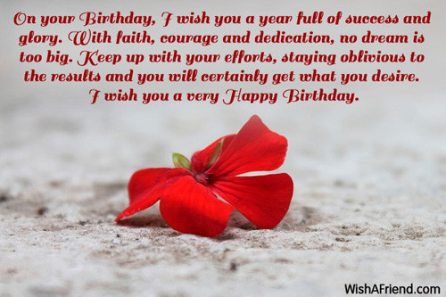 Best ideas about Inspirational Birthday Wishes . Save or Pin Inspirational Birthday Messages Now.