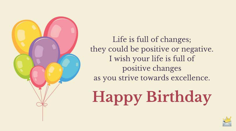 Best ideas about Inspirational Birthday Wishes . Save or Pin Inspirational Happy Birthday Quotes Never Stop Dreaming Now.