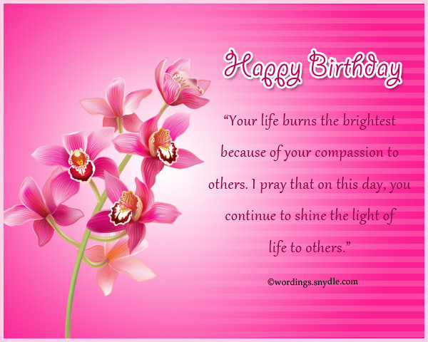 Best ideas about Inspirational Birthday Wishes . Save or Pin Inspirational Birthday Messages Wishes and Quotes Now.