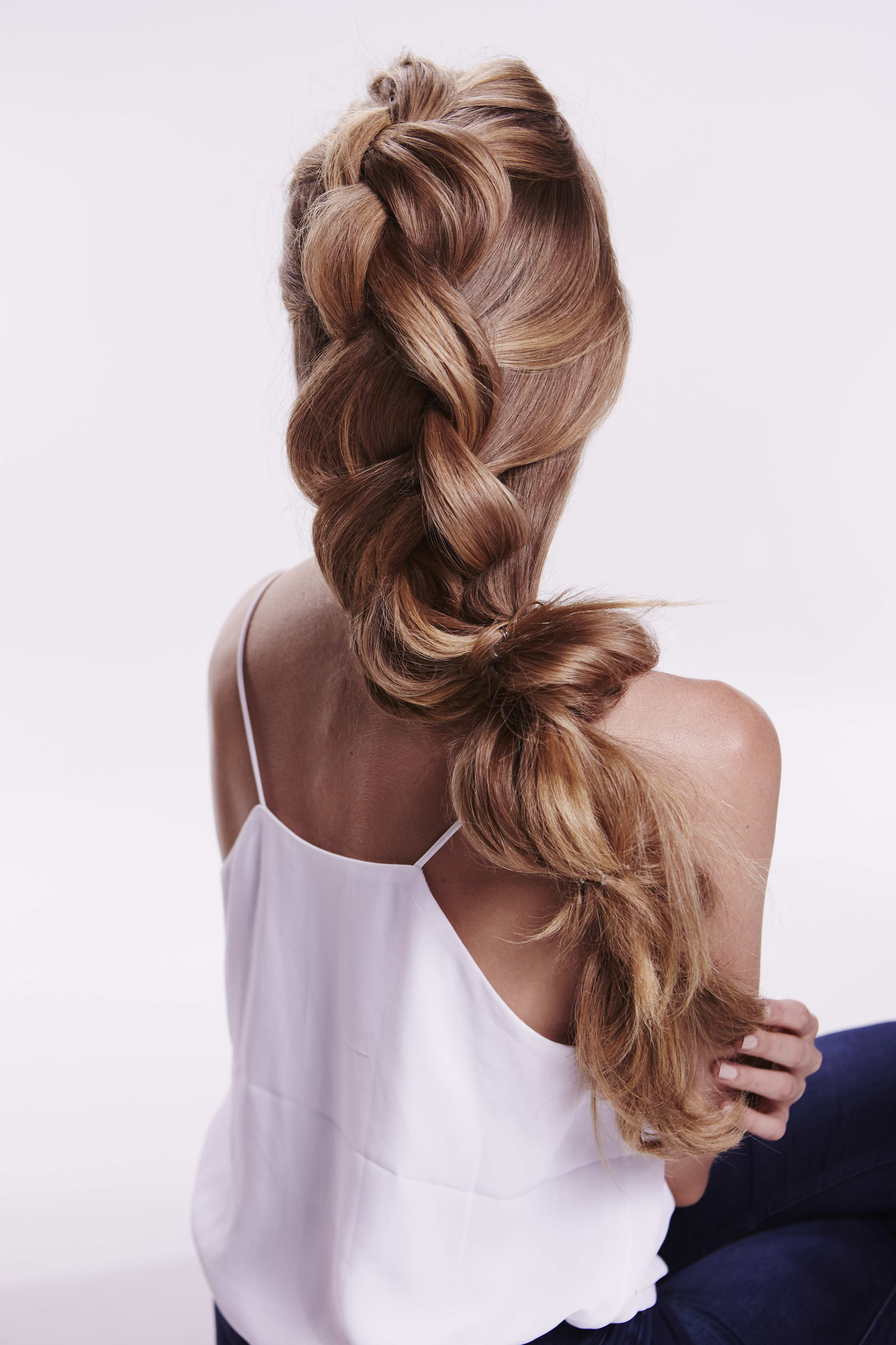Best ideas about Invisibobble Hairstyles . Save or Pin mermaid braid tutorial • by Pinterest Now.