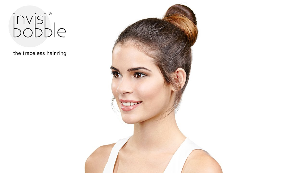 Best ideas about Invisibobble Hairstyles . Save or Pin messy bun easy invisibobble hair tutorial by Richard Now.