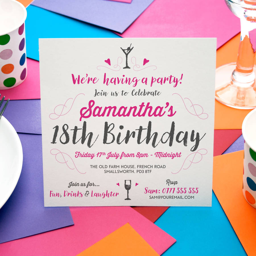Best ideas about Invitation For Birthday Party . Save or Pin party invitations by a is for alphabet Now.