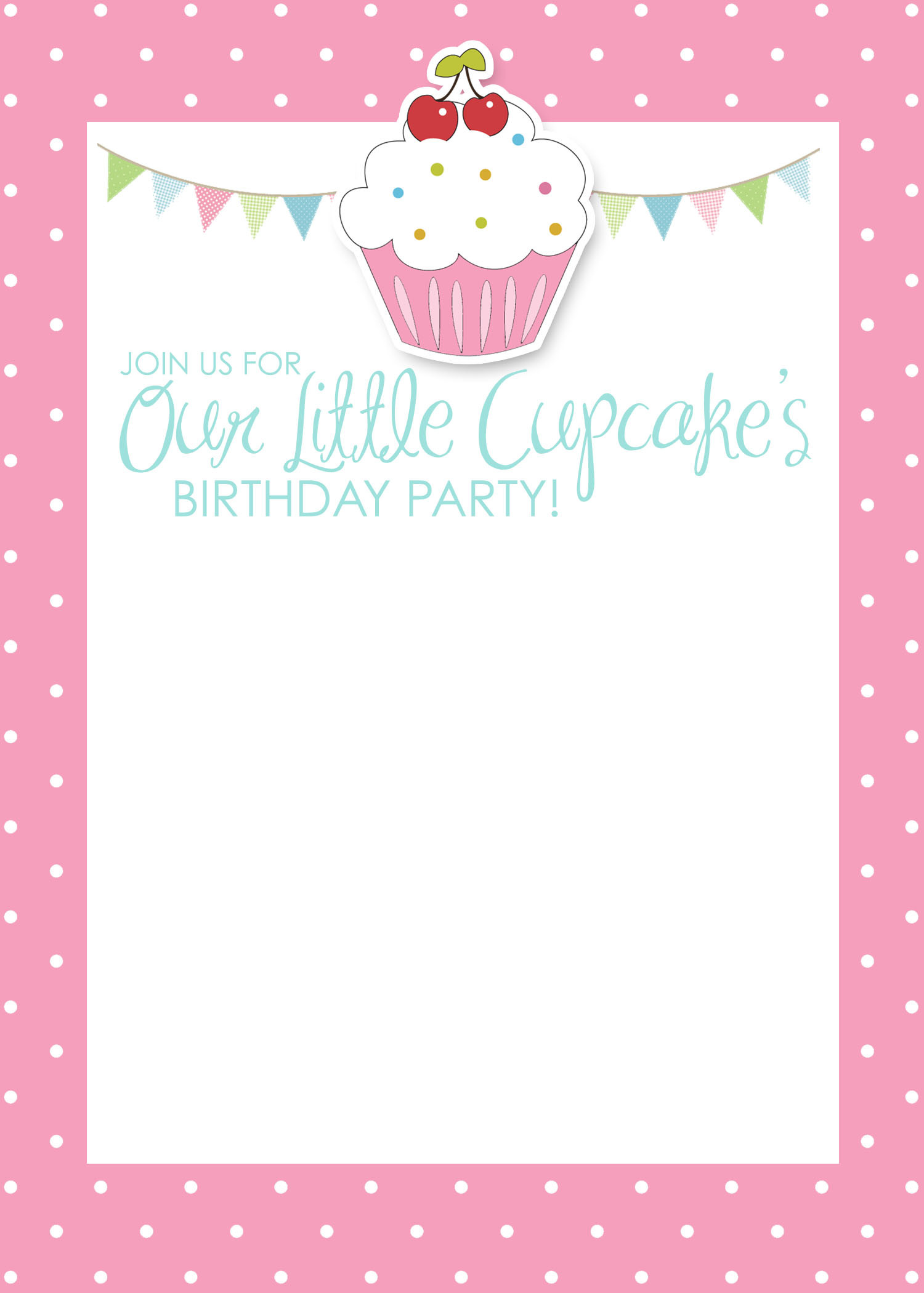 Best ideas about Invitation For Birthday Party . Save or Pin Cupcake Birthday Party with FREE Printables How to Nest Now.