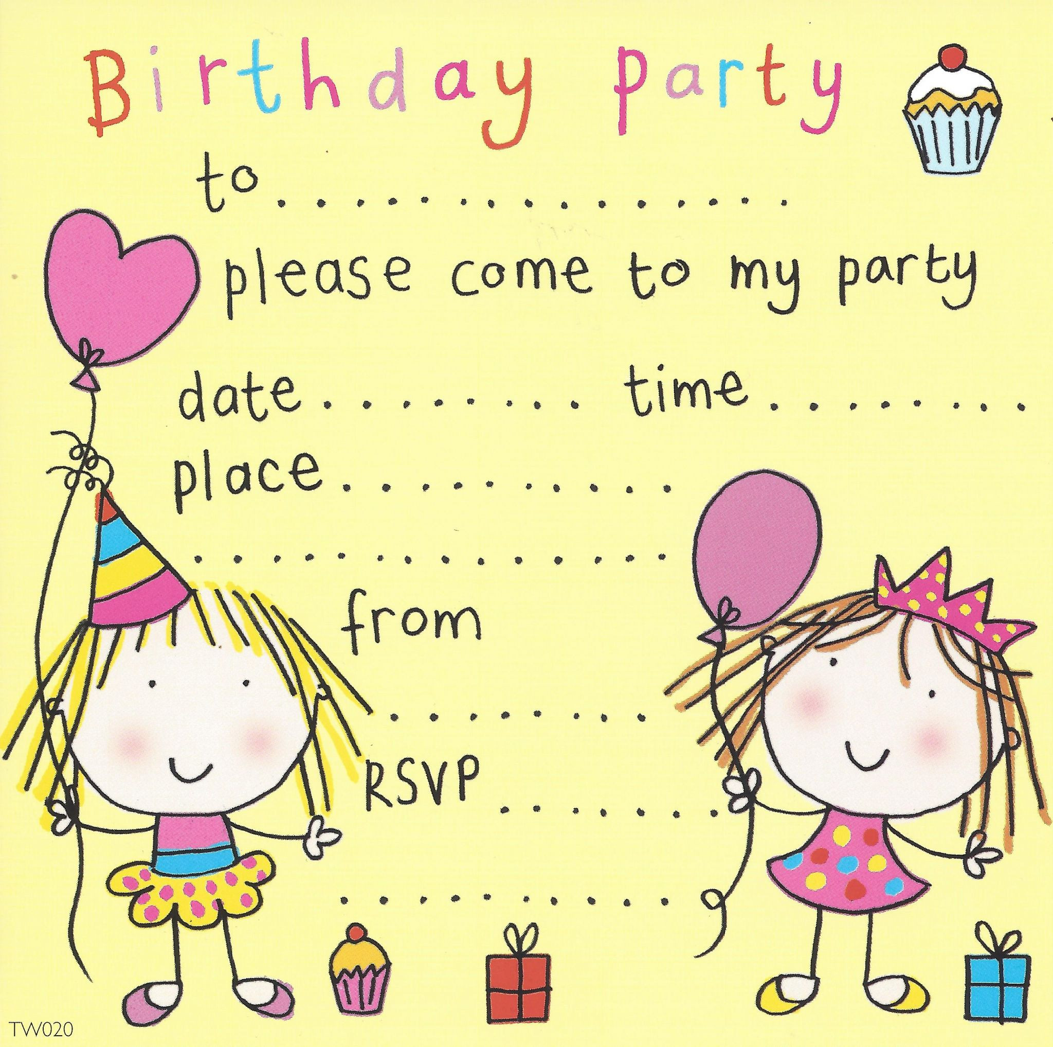 Best ideas about Invitation For Birthday Party . Save or Pin party invitations birthday party invitations kids party Now.