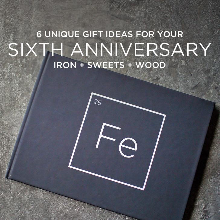 Best ideas about Iron Gift Ideas . Save or Pin 6 Unique 6th Year Anniversary Gift Ideas Iron Sweets and Now.