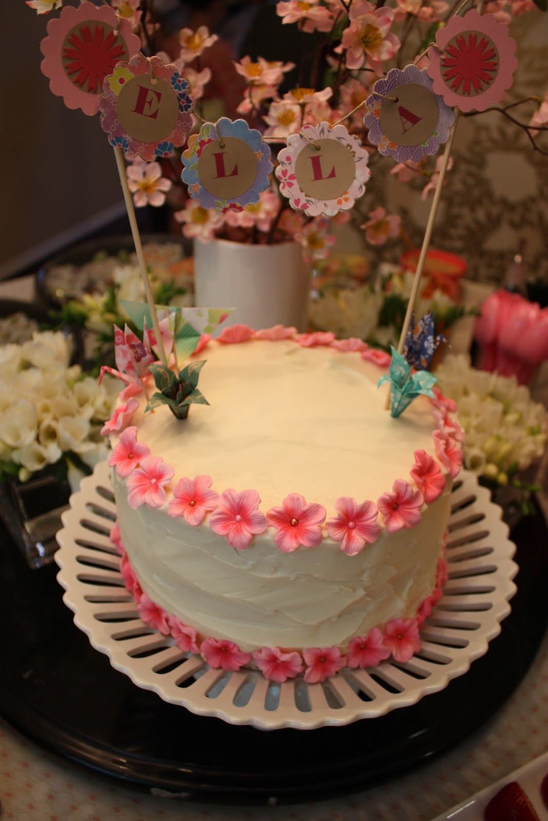 Best ideas about Japanese Birthday Cake . Save or Pin Buttercream Buzz Japanese Themed Birthday Party Now.