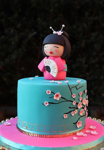 Best ideas about Japanese Birthday Cake . Save or Pin Best 25 Cherry blossom cake ideas on Pinterest Now.
