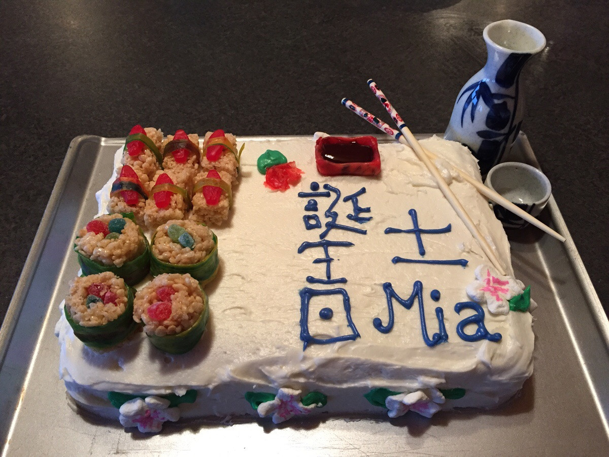Best ideas about Japanese Birthday Cake . Save or Pin Japanese themed Birthday Cake Baking Now.
