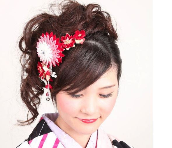 Best ideas about Japanese Hairstyle Female . Save or Pin Kimono hair in Japan Now.