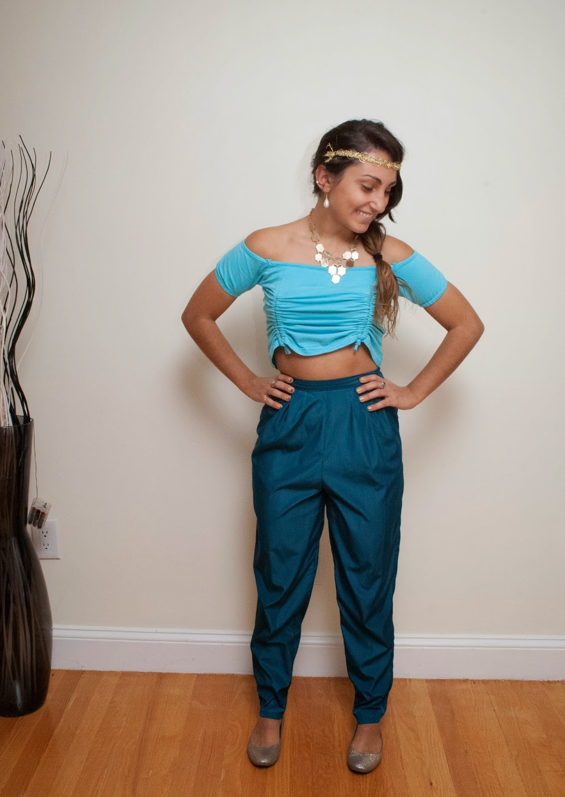 Best ideas about Jasmine DIY Costume . Save or Pin Halloween Costume Ideas Week 2 of 4 Good better dressed Now.