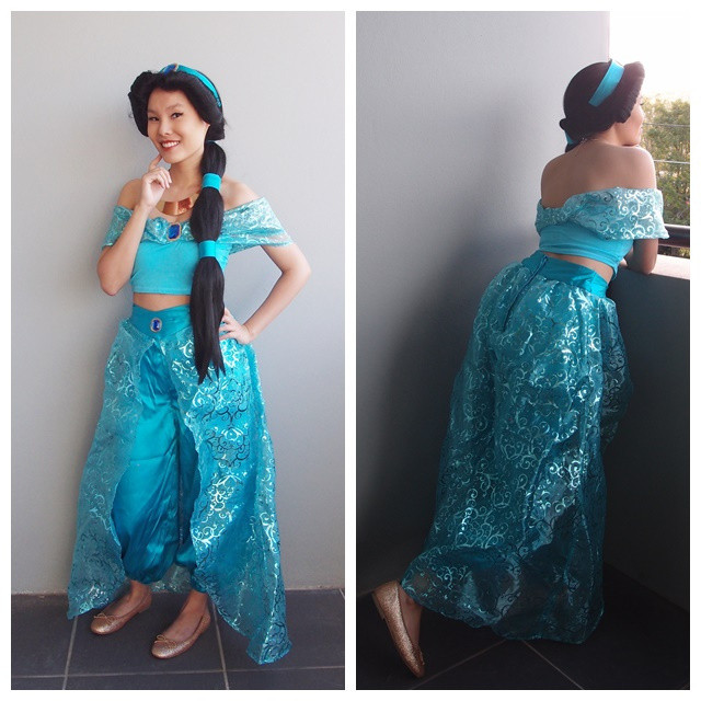 Best ideas about Jasmine DIY Costume . Save or Pin That time I made a Princess Jasmine costume Now.