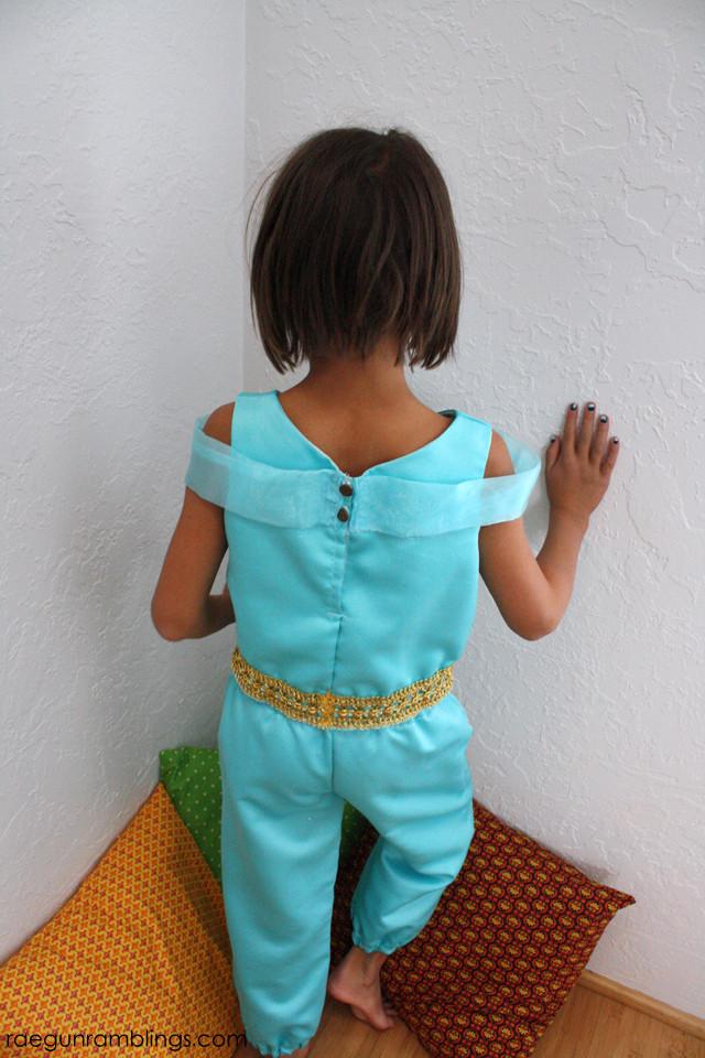 Best ideas about Jasmine DIY Costume . Save or Pin DIY Princess Jasmine Costume Tutorial Rae Gun Ramblings Now.