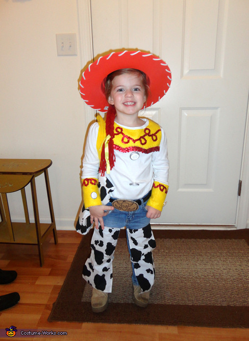 Best ideas about Jessie Toy Story Costume DIY . Save or Pin Toy Story Jessie the Cowgirl Homemade Halloween Costume Now.