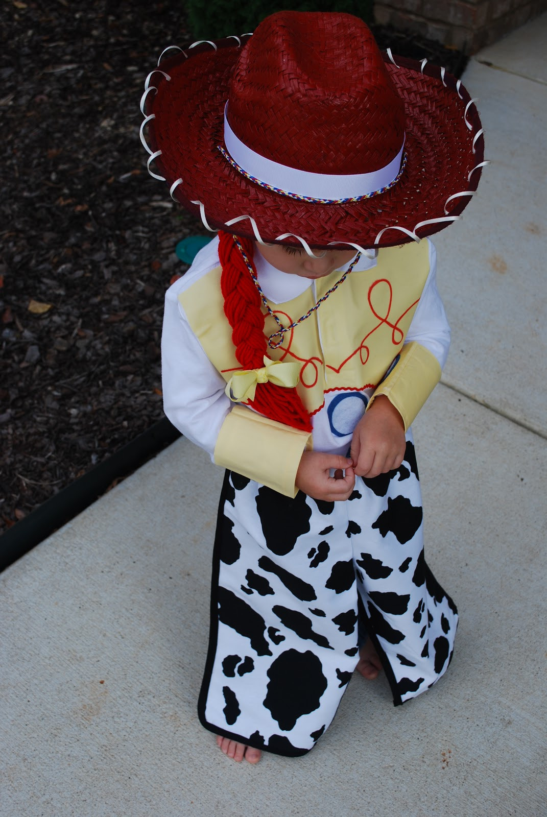 Best ideas about Jessie Toy Story Costume DIY . Save or Pin Fussy Monkey Business Toy Story s Jessie Costume edited Now.